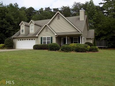 Dawsonville Single Family Home Under Contract: 131 Greenwood Park Way