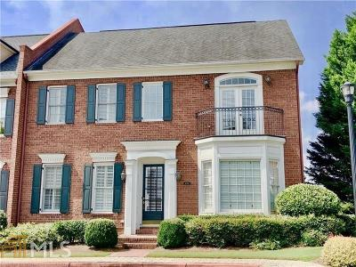 Cobb County Condo/Townhouse For Sale: 4724 Ivy Ridge Dr