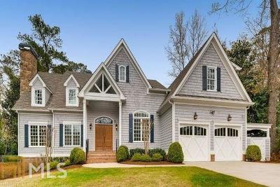 Atlanta Single Family Home New: 4357 Jett Road NW