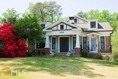 Atlanta Single Family Home New: 2098 Belvedere Drive NW