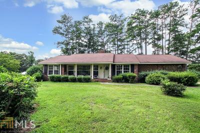 Coweta County Single Family Home Under Contract: 1476 West Grantville Rd
