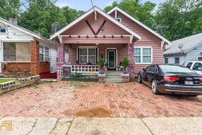 Atlanta Single Family Home New: 1036 Mayson Turner Road NW