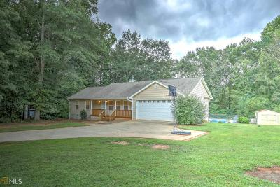 Elbert County, Franklin County, Hart County Single Family Home Under Contract: 555 Crump Mill Rd