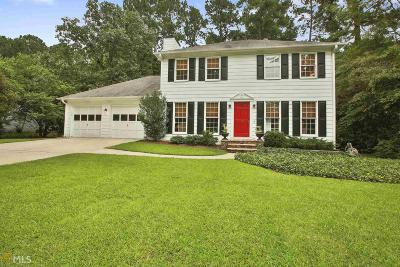 Peachtree City Single Family Home Under Contract: 408 Raintree Bend