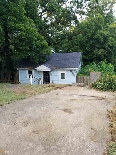 Atlanta Single Family Home New: 2081 Morehouse Dr