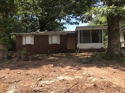 Atlanta Single Family Home New: 1799 Richmond Ave SE Avenue SE