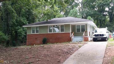 Atlanta Single Family Home New: 2431 SW Baxter Rd