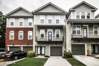 Norcross Condo/Townhouse New: 6013 Brookside Oak Cir
