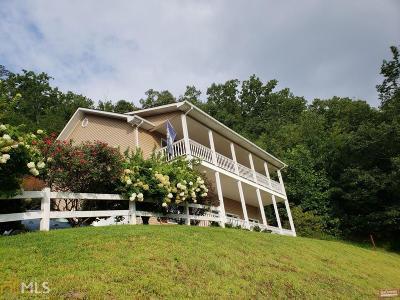 Hiawassee Single Family Home Under Contract: 121 Brer Fox Ridge Rd