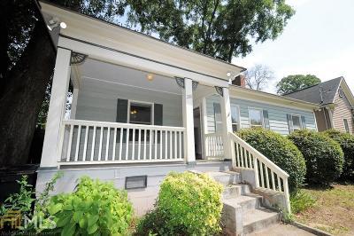Grant Park Single Family Home For Sale: 288 Grant Park Pl