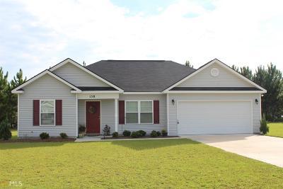 Statesboro Single Family Home For Sale: 158 Stillwater Dr