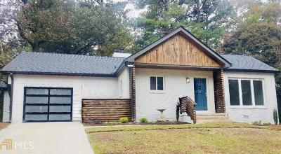 Chamblee Single Family Home Under Contract: 3826 Greenhill Dr
