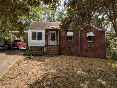 Douglasville Single Family Home For Sale: 3477 Pope Rd