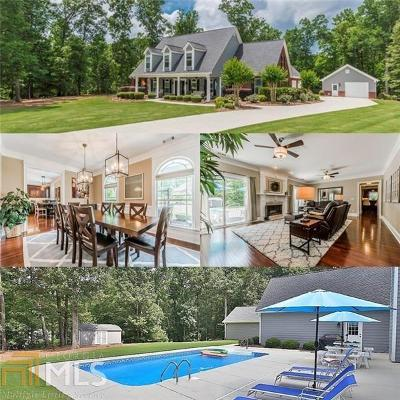 Monroe, Social Circle, Loganville Single Family Home For Sale: 1604 Market Sq