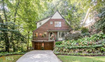 Virginia Highland Single Family Home For Sale: 653 Amsterdam Ave