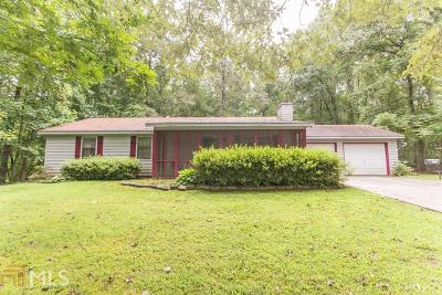 Dawsonville Single Family Home Under Contract: 102 Stonehedge Dr
