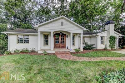 Smyrna Single Family Home For Sale: 1249 Hayes Dr