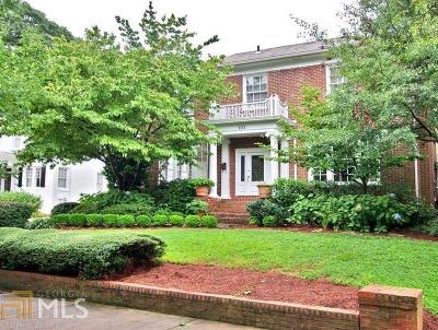Virginia Highland Single Family Home Under Contract: 1111 St Charles Pl