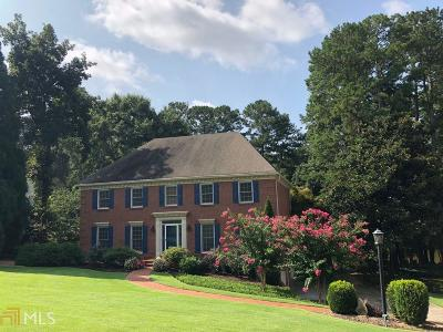 Lilburn Single Family Home For Sale: 5466 Georgetown Trce