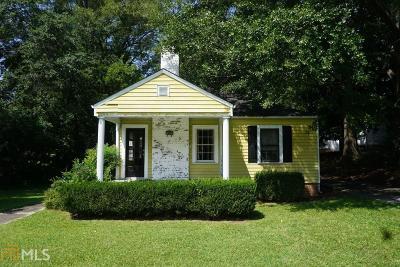 Historic Marietta Single Family Home For Sale: 319 Church St