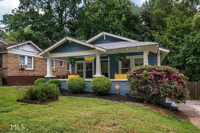 Grant Park Single Family Home For Sale: 471 Robinson Ave