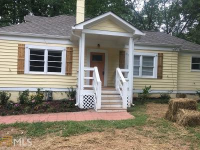 Sylvan Hills Single Family Home For Sale: 1861 Sylvan Rd
