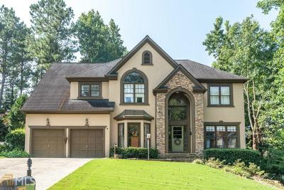 Johns Creek Single Family Home Under Contract: 11035 Pennbrooke Xing