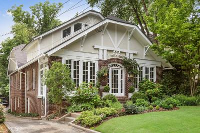 Ansley Park Single Family Home Under Contract: 16 Walker Ter