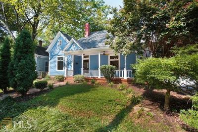 Grant Park Single Family Home For Sale: 539 Grant St