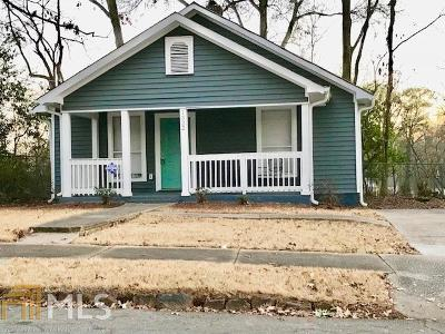 East Point Single Family Home For Sale: 1322 McClelland Ave