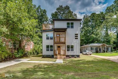 Decatur Single Family Home For Sale: 670 Parker Ave