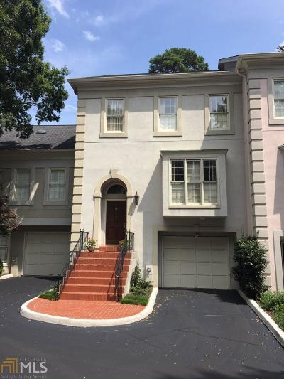 Dekalb County Condo/Townhouse Under Contract: 2494 Brookhaven Pl