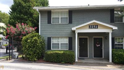 Brookhaven Condo/Townhouse For Sale: 3151 Buford Hwy #1