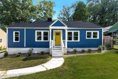 Hapeville Single Family Home For Sale: 308 Maple St