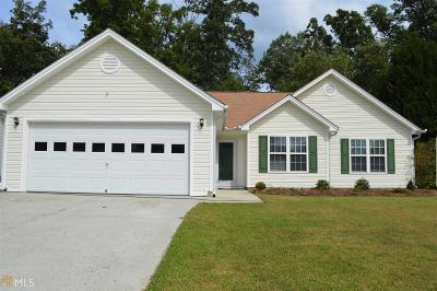 Dacula Single Family Home Under Contract: 1737 Fort River