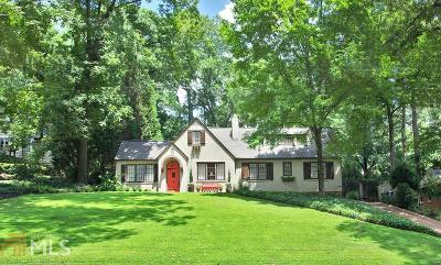 Collier Hills Single Family Home For Sale: 491 Collier Rd
