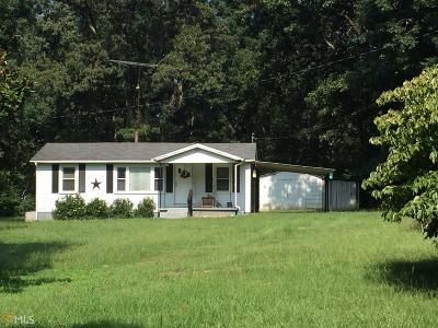 Elbert County, Franklin County, Hart County Single Family Home Under Contract: 1568 Omer Bond
