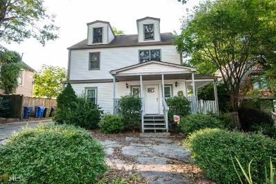 Fulton County Multi Family Home Under Contract: 815 Verner