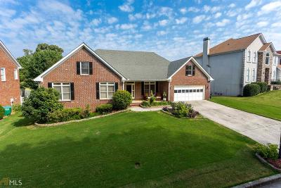 Snellville Single Family Home Under Contract: 3279 Clubside Vw