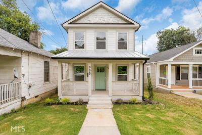 Pittsburgh Single Family Home Under Contract: 886 Hubbard St