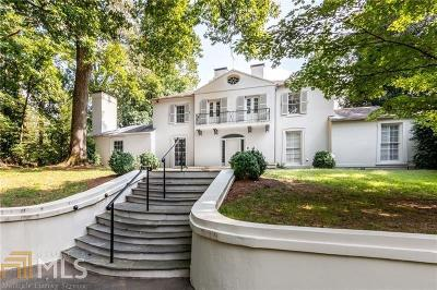Buckhead Single Family Home For Sale: 1154 W Paces Ferry Rd