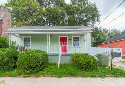 Cabbagetown Single Family Home For Sale: 184 Savannah St