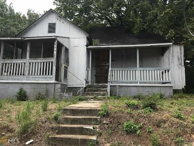 Fulton County Multi Family Home Under Contract: 1455 Jonesboro Rd