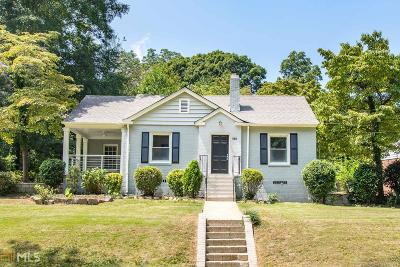 Hapeville Single Family Home For Sale: 688 Campbell Cir