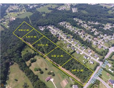 Dacula Residential Lots & Land For Sale: 1653 Will Wages Rd