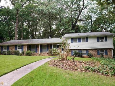 Chamblee Single Family Home For Sale: 3132 Hathaway Ct