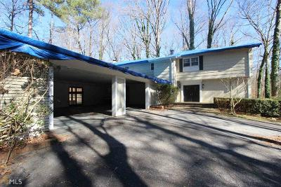 Buckhead Single Family Home For Sale: 3830 Beechwood Dr