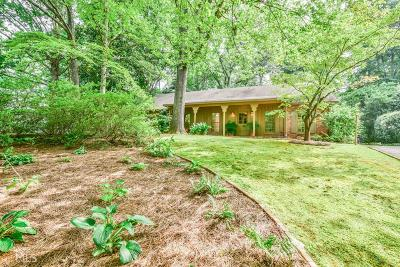 Brookhaven Single Family Home For Sale: 3444 Sunderland Cir