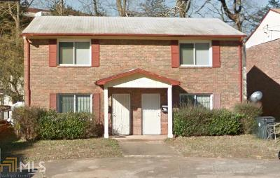 Fulton County Multi Family Home Under Contract: 1345 Womack Ave
