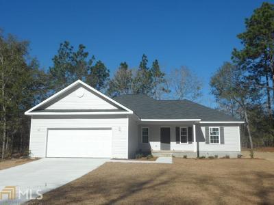 Statesboro Single Family Home For Sale: 300 Wire Grass Ct #4